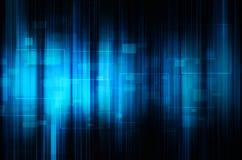 Abstracte blauwe technologie-achtergrond Royalty-vrije Stock Afbeelding