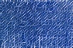 Abstracte blauwe technologieachtergrond Stock Fotografie