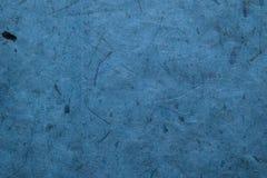 Abstracte blauwe textuur Blauwe document achtergrond Abstracte achtergrond en textuur voor ontwerpers Stock Fotografie