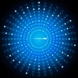 Abstracte Blauwe VectorAchtergrond Stock Afbeelding