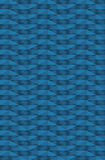 Abstracte blauwe vierkantenachtergrond Stock Fotografie