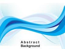 Abstracte blauwe Webachtergrond Royalty-vrije Stock Afbeelding