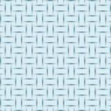 Abstracte blauwe weefseltextuur, in reliëf gemaakte schaduwvector als achtergrond Stock Fotografie