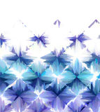 Abstracte blauwe witte achtergrond Stock Foto