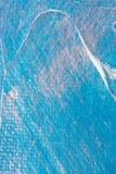 Abstracte blauwe zilveren achtergrond Royalty-vrije Stock Foto's