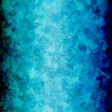 Abstracte Blauwe zwarte driehoeksverticaal als achtergrond Royalty-vrije Stock Afbeelding