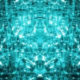 Abstracte blauwgroene achtergrond Vector Illustratie