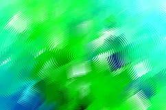 Abstracte blauwgroene waterplons stock illustratie