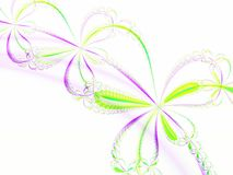 Abstracte bloem Royalty-vrije Stock Afbeeldingen