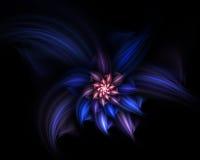 Abstracte bloem Stock Afbeeldingen