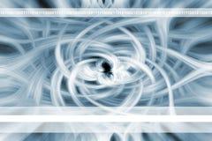 Abstracte Bloem - Achtergrond stock illustratie