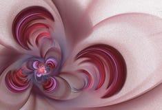 Abstracte bloem op een lichte achtergrond Stock Fotografie