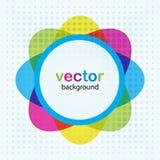 Abstracte bloem. Vector illustratie Royalty-vrije Stock Afbeeldingen