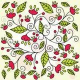 Abstracte bloemachtergrond Royalty-vrije Stock Foto