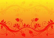 Abstracte bloemachtergrond Royalty-vrije Stock Fotografie