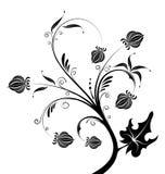 Abstracte bloemachtergrond Royalty-vrije Stock Afbeeldingen