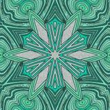 Abstracte bloemachtergrond met lichtgroen vector illustratie