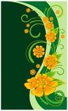 Abstracte bloemen Royalty-vrije Stock Afbeeldingen