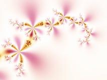 Abstracte bloemen Royalty-vrije Stock Foto