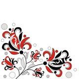 Abstracte bloemen Stock Afbeeldingen