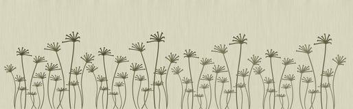 Abstracte bloemen Stock Afbeelding
