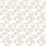 Abstracte Bloemen Naadloze Vectorachtergrond Stock Afbeelding