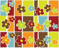 Abstracte bloemenachtergrond Stock Illustratie