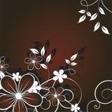 Abstracte bloemenachtergrond Royalty-vrije Stock Fotografie