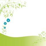 Abstracte bloemenachtergrond Stock Afbeeldingen