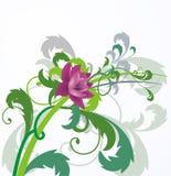 Abstracte bloemenachtergrond Stock Fotografie