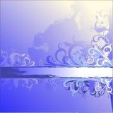 Abstracte bloemenachtergrond Royalty-vrije Stock Foto