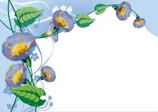 Abstracte bloemenachtergrond Royalty-vrije Stock Afbeeldingen