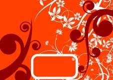 Abstracte bloemenachtergrond. Stock Foto's