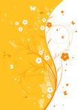 Abstracte bloemenachtergrond Royalty-vrije Stock Foto's
