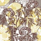 Abstracte bloemenachtergrond Royalty-vrije Illustratie