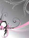 Abstracte bloemenachtergrond. Royalty-vrije Stock Afbeeldingen