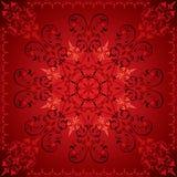 Abstracte bloemenachtergrond, elementen voor ontwerp, vector Royalty-vrije Stock Afbeelding