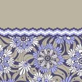 Abstracte bloemenachtergrond met plaats voor uw tekst Stock Afbeeldingen