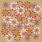 Abstracte bloemenelementen Royalty-vrije Stock Afbeelding