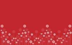 Abstracte bloemtuin vector illustratie