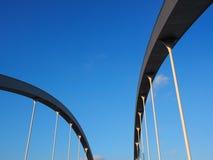 Abstracte bogen van een brug Royalty-vrije Stock Foto