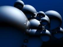 Abstracte bollen Royalty-vrije Stock Afbeeldingen