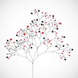 Abstracte boom Het kan voor prestaties van het ontwerpwerk noodzakelijk zijn Royalty-vrije Stock Foto