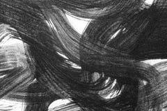 Abstracte borstelslagen en plonsen van verf op Witboek wat royalty-vrije stock fotografie
