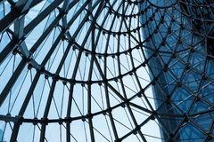 Abstracte bouw Royalty-vrije Stock Afbeelding