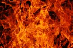 Abstracte brandachtergrond Stock Foto