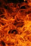 Abstracte brandachtergrond Stock Afbeelding