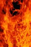 Abstracte brandachtergrond Stock Fotografie
