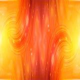Abstracte brandachtergrond vector illustratie