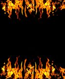 Abstracte brandachtergrond royalty-vrije stock fotografie